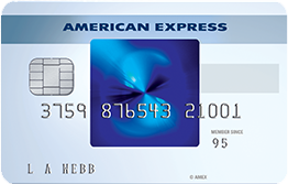 Blue American Express