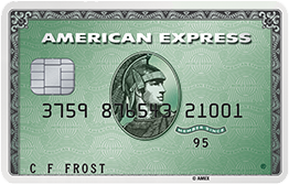 Green American Express