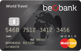 beobank world travel card