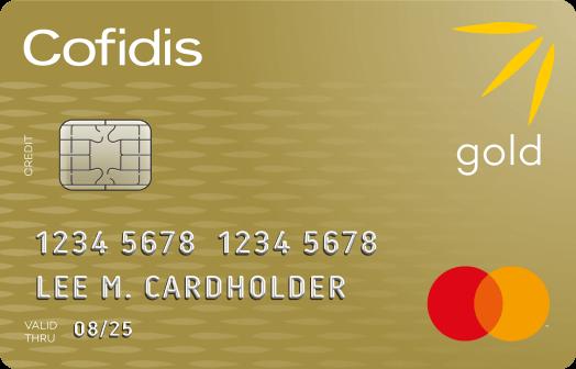 cofidis mastercard gold