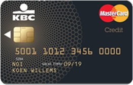 Carte De Credit Prepayee Kbc.Cartes De Credit Cartes A Partir De 0 Topcompare Be